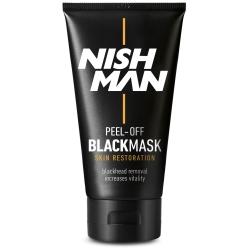 NISHMAN PEEL-OFF BLACK MASK CZARNA MASKA DO TWARZY
