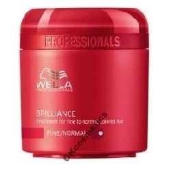 WELLA BRILLIANCE MASKA FARBOWANE CIENKIE 150 ml.