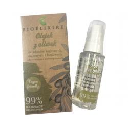 Bioelixire Olejek z Oliwek do włosów kręconych 50