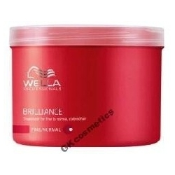 WELLA BRILLIANCE MASKA FARBOWANE CIENKIE 500 ml