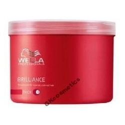 WELLA BRILLIANCE MASKA WŁ FARBOWANE, GRUBE 500ml