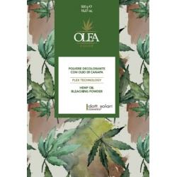 Rozjaśniacz do włosów Olea Hemp z plex i olejkiem