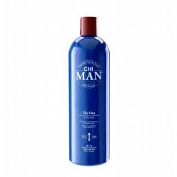 CHI Man The One 3w1 Szampon odżywka żel 739 ml
