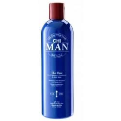 CHI Man The One 3w1 Szampon odżywka żel 355ml