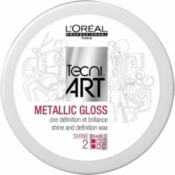 LOREAL METALLIC GLOSS WOSK POŁYSK 50ML HIT!