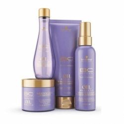 SCHWARZKOPF BC OIL MIRACLE BARBARY FIG ZESTAW HIT!