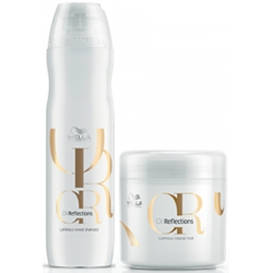 WELLA OIL REFLECTIONS SZAMPON 250ml + MASKA 150ml