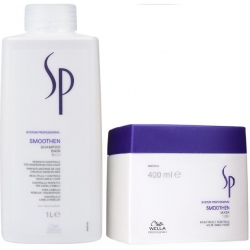 WELLA SP SMOOTHEN SZAMPON 1000ml + MASKA 400ml