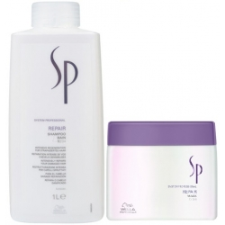 WELLA SP REPAIR SZAMPON 1000ml + MASKA 400ml