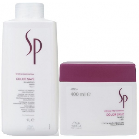 WELLA SP Color Save szampon 1000ml + maska 400ml