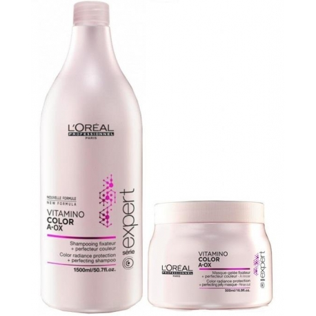 LOREAL VITAMINO COLOR A-OX ZESTAW 1500 ML + 500 ML
