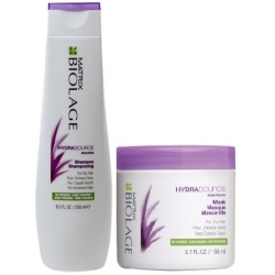 MATRIX BIOLAGE HYDRASOURCE SZAMPON 250ml + MASKA 150ml