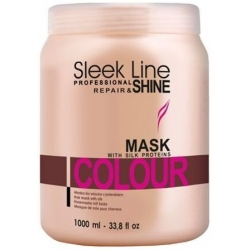 STAPIZ SLEEK LINE COLOUR MASKA FARBOWANE 1000ml
