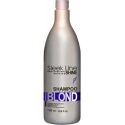 Stapiz Szampon Sleek Line z jedwabiem Blond 1000ml