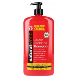 NATURAL WORLD COLOUR RADIANCE szampon 1000ML