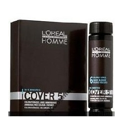 LOREAL HOMME COVER 6 ODSIWIACZ ŻEL+OXYDANT GRATIS