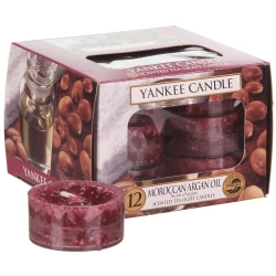YANKEE CANDLE MOROCCAN ARGAN OIL TEA LIGHT 12pcs