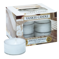 YANKEE CANDLE ANGEL'S WINGS TEA LIGHT 12PCS