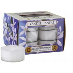 YANKEE CANDLE MIDNIGHT JASMINE TEA LIGHT 12PCS