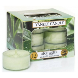 YANKEE CANDLE ALOE WATER TEA LIGHT 12PCS