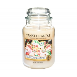 Yankee Candle Cream Colored Ponies 623g duży słoik