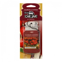 YANKEE CANDLE CAR JAR ZAWIESZKA BLACK CHERRY