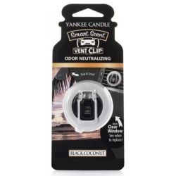 Yankee Candle Car Vent Clip Black Coconut