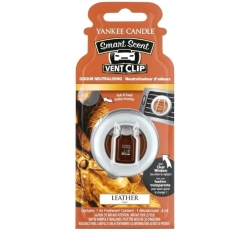 Yankee Candle Car Vent Clip Leather