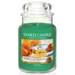 Yankee Candle ALFRESCO AFTERNOON duży słoik 623g