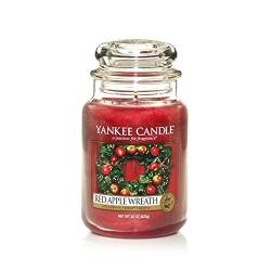 YANKEE CANDLE RED APPLE WREATH ŚWIECA ZAPACH 623g