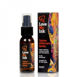 LOVE MY INK TATTOO SPRAY OCHRONNY DO TATUAŻU 30ML